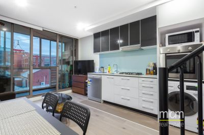 Use as a two bedroom or one bedroom with study in this stylish charm over two levels!