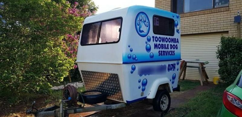 BUSY MOBILE DOG GROOMING BUSINESS - TOOWOOMBA REGION