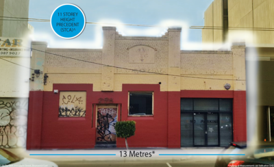 Lygon Street Warehouse with loads of potential