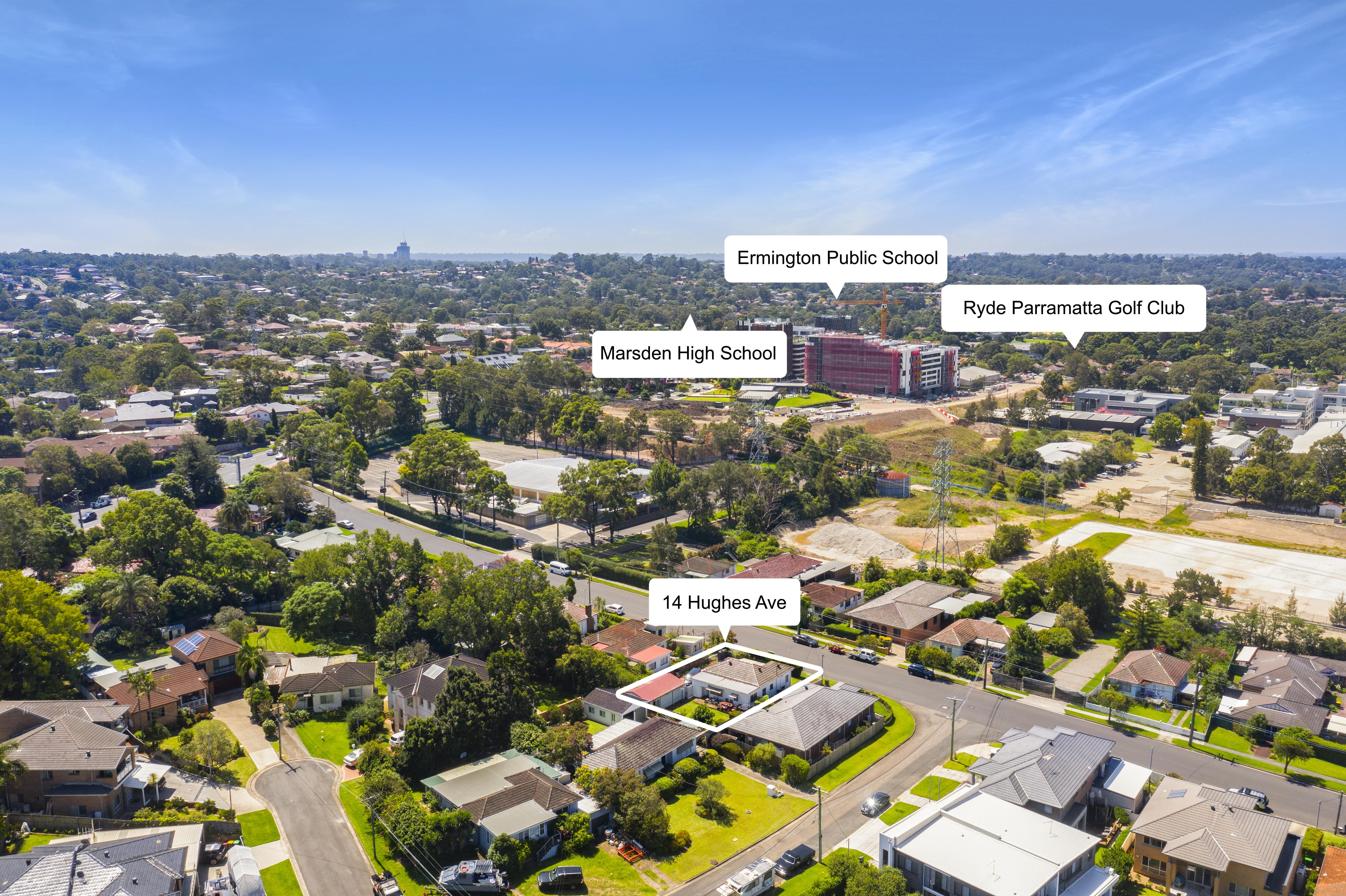 14 Hughes Avenue, Ermington NSW 2115