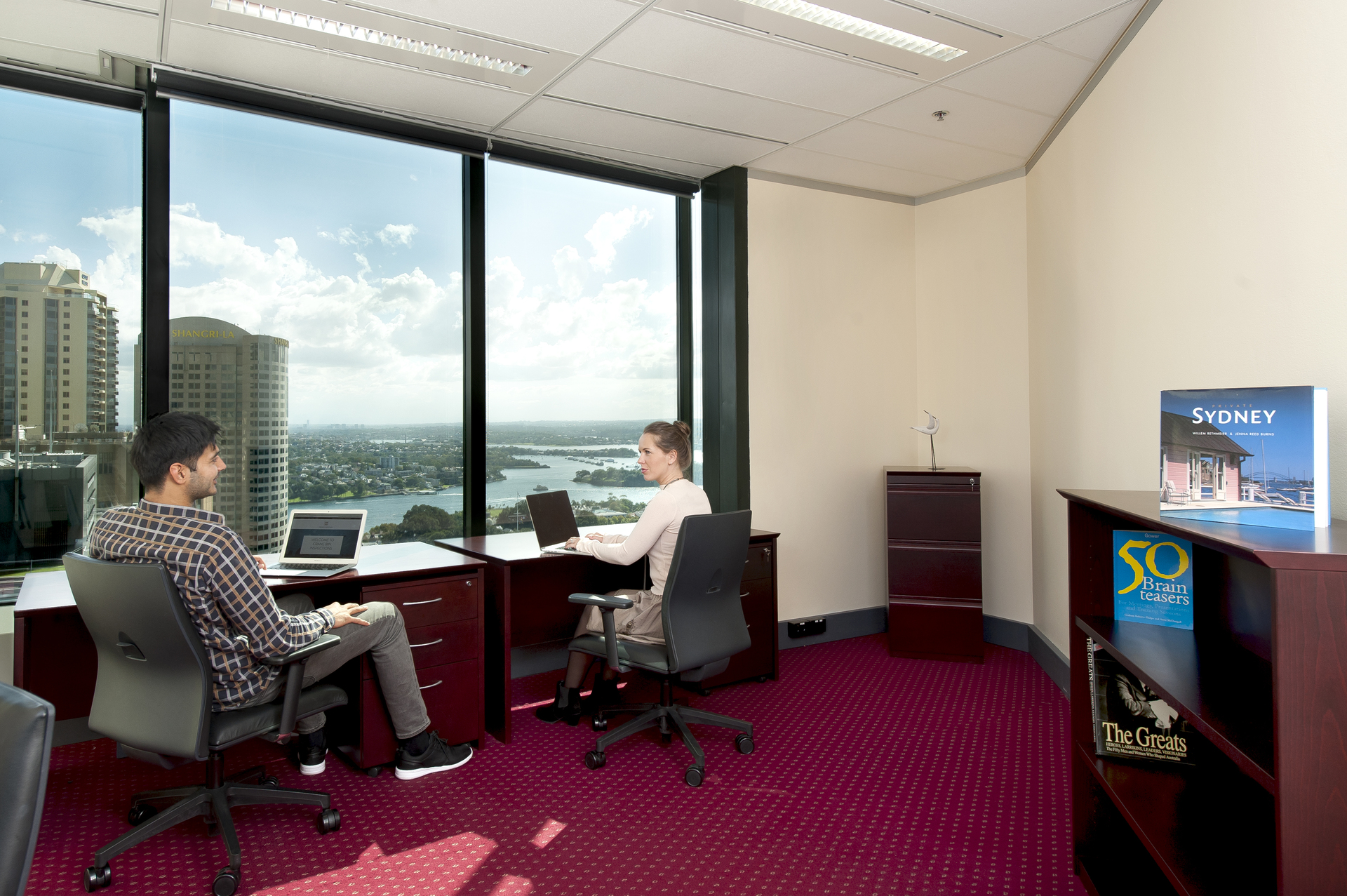 Premium 2-person office with spectacular views at Gateway