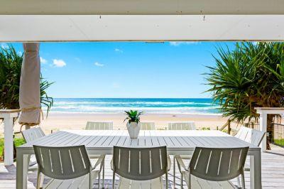 Beach House right on the sand