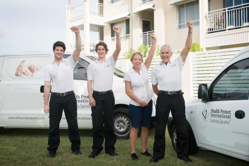LIVE AND WORK IN THE WHITSUNDAYS. CARPET CLEANING BUSINESS WITH SECURECONTRACTS