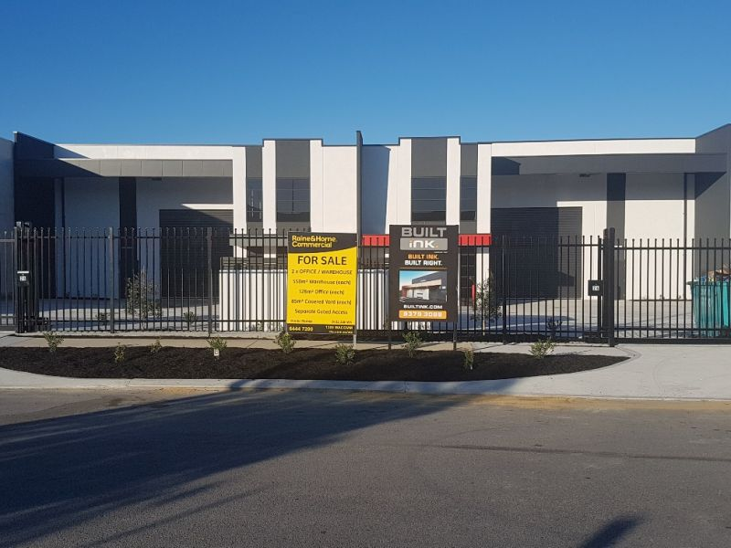 STREET FRONT OFFICE / WAREHOUSE UNITS WITH SEPARATE ACCESS & PARKING