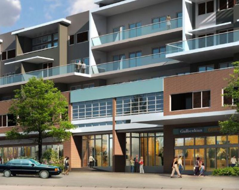 Shearwater development - Commerical/Retail King Street frontage