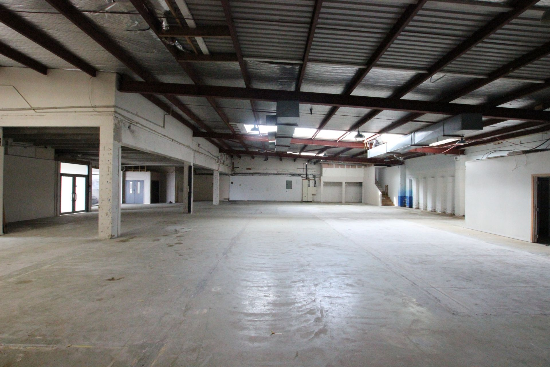 Large Warehouse Office Combination