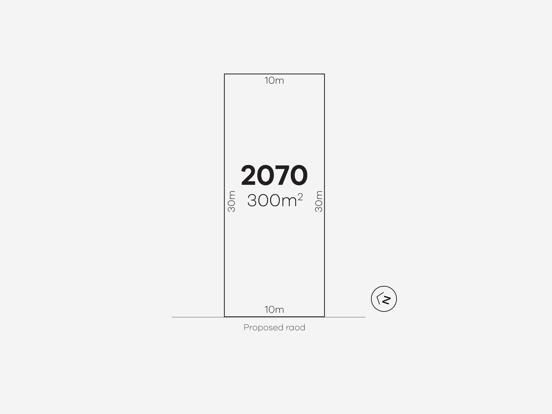 Bardia Lot 2070 Proposed Road