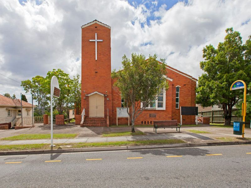 A 2,585sq m surplus church property with development potential