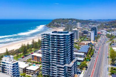 Beachfront luxury apartments with panoramic ocean views