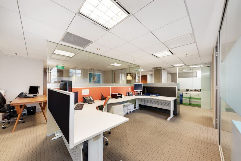 Private offices in co share space