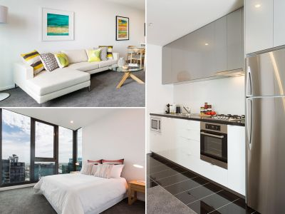 Inner City Living At Its Finest - 2 Bedroom, 2 Bathroom Apartment in Stunning Southbank Grand Building!
