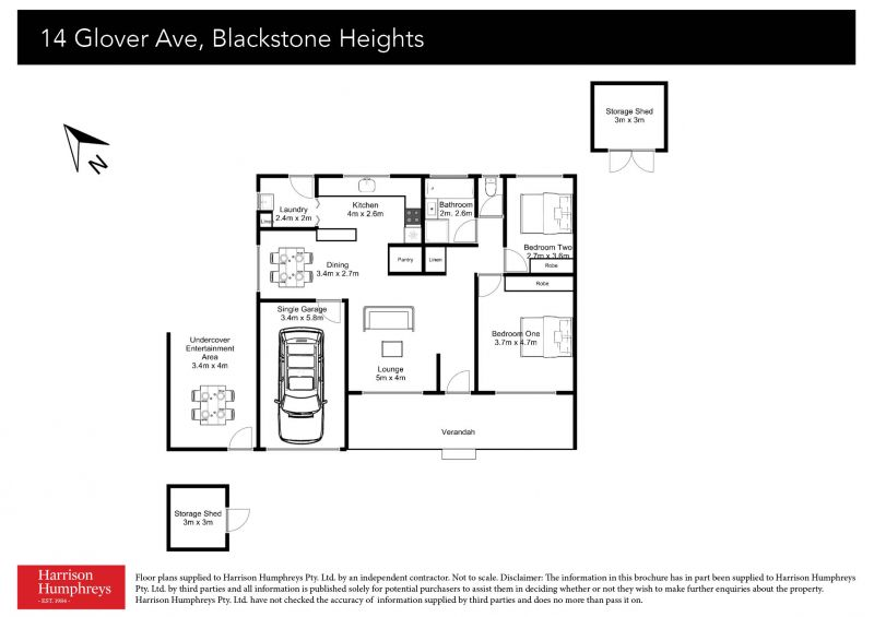 14 Glover Avenue Floorplan