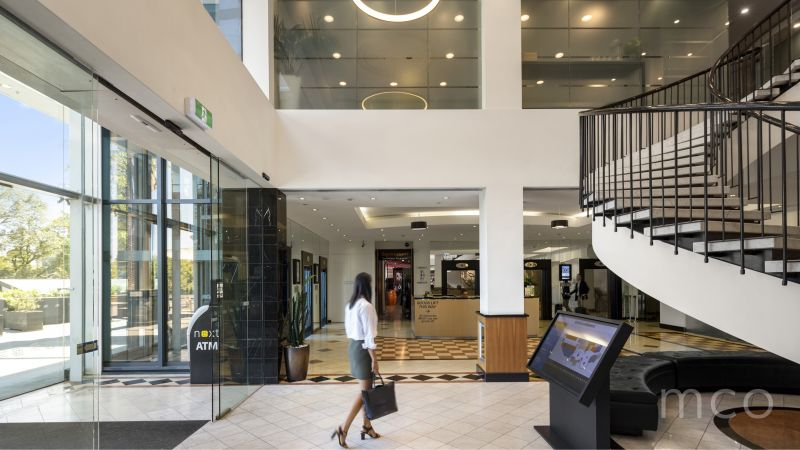 Penthouse level office ready for savvy business