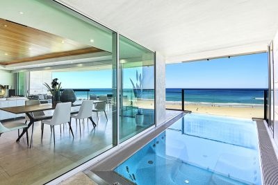 JADE  The Ultimate Entire floor Beachfront residence