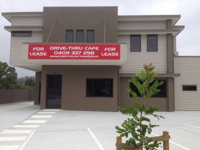 Drive Thru Cafe with residence above