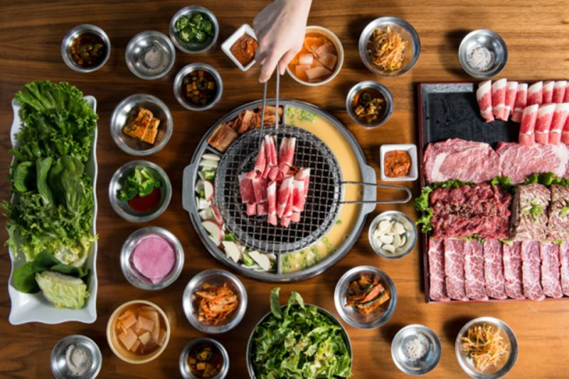 Top Korean BBQ Restaurant @ famous café/restaurant lane in CBD