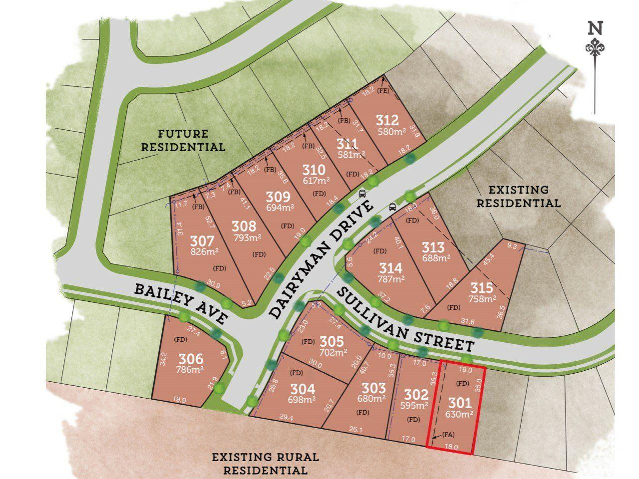 Lot 301 Sullivan Street RAYMOND TERRACE 2324