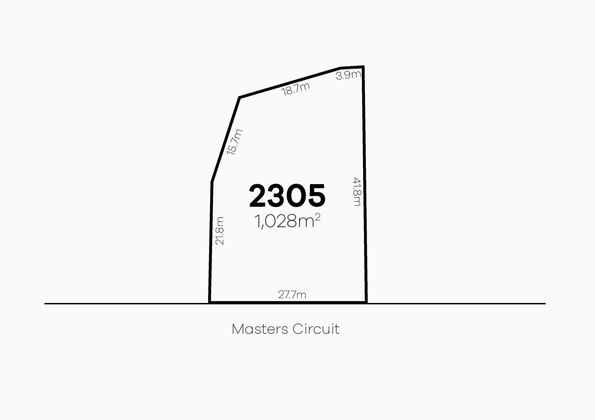 Colebee Lot 2305 Masters Circuit   Stonecutters Ridge