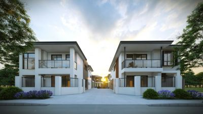 READY TO BUILD  STUNNING TOWNHOUSES                        $45 000 GOVERNMENT GRANTS AVAILABLE