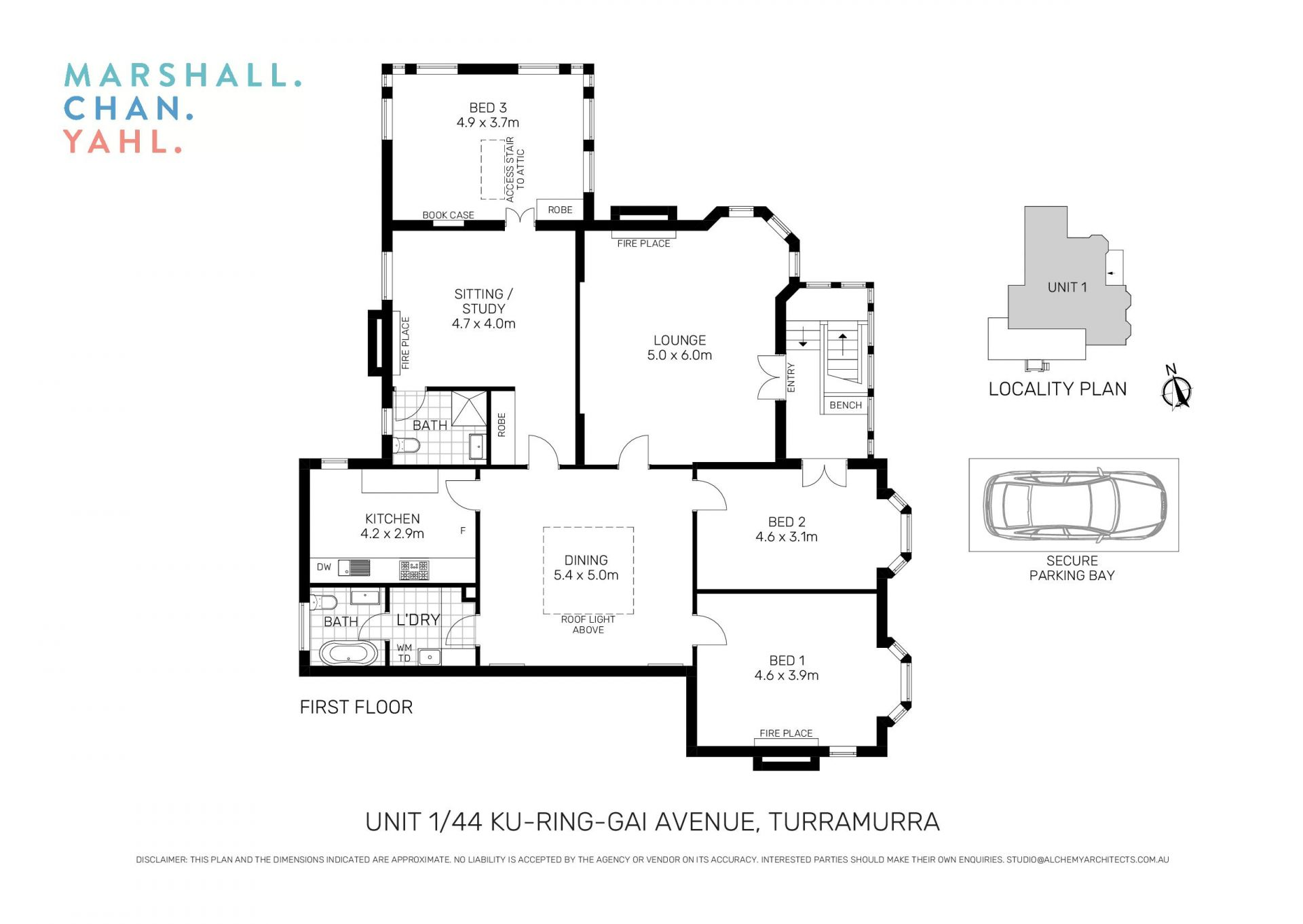 1/44 Ku-Ring-Gai Avenue Turramurra 2074