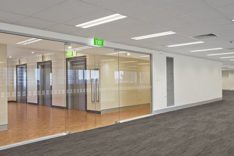 Fitout and great views over Barangaroo