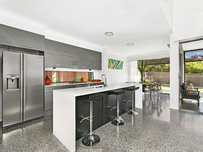 Ultra-contemporary family home in desirable street
