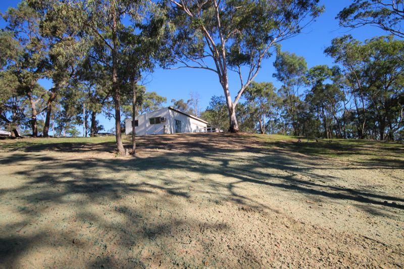 Lovely block with 2 sheds, pony paddock and plenty of space for a brand new home.