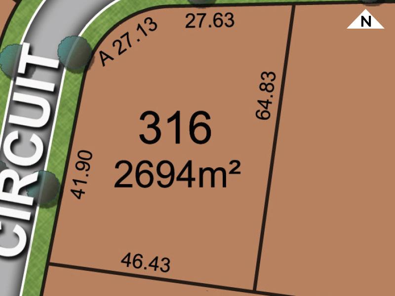 Branxton Lot 316 Pin Oak Circuit