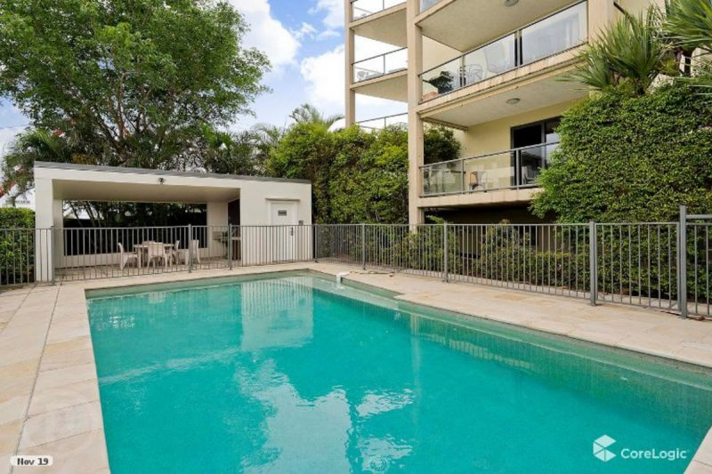 HUGE DOUBLE LENGTH OUTDOOR BALCONY OFF TWO BEDROOMS POOL IN COMPLEX
