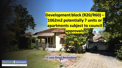 Quiet Location - Development potential R20/R60