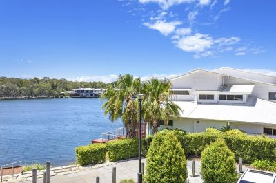 Tastefully Renovated Free Standing Stunner with Water Views