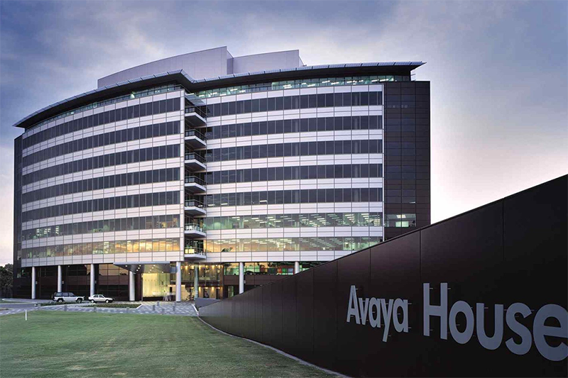 Collaborative workspace for 2 people in the prestigious Avaya House