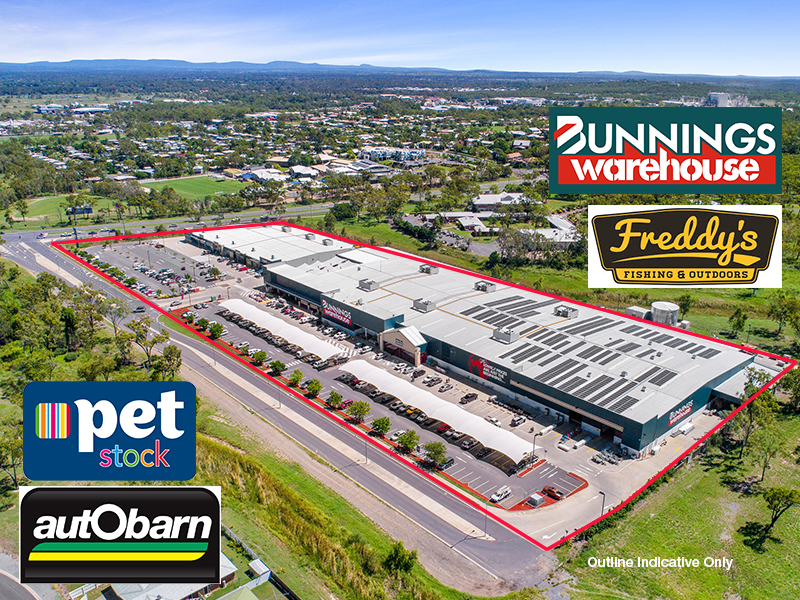 Bunnings Anchored Retail Investment, Rockhampton