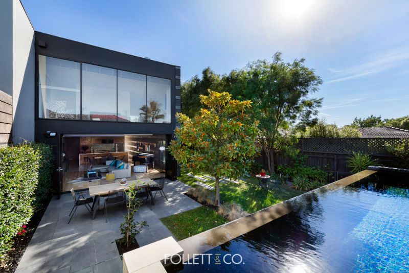 The Pinnacle of Striking and Sleek Brighton East Living