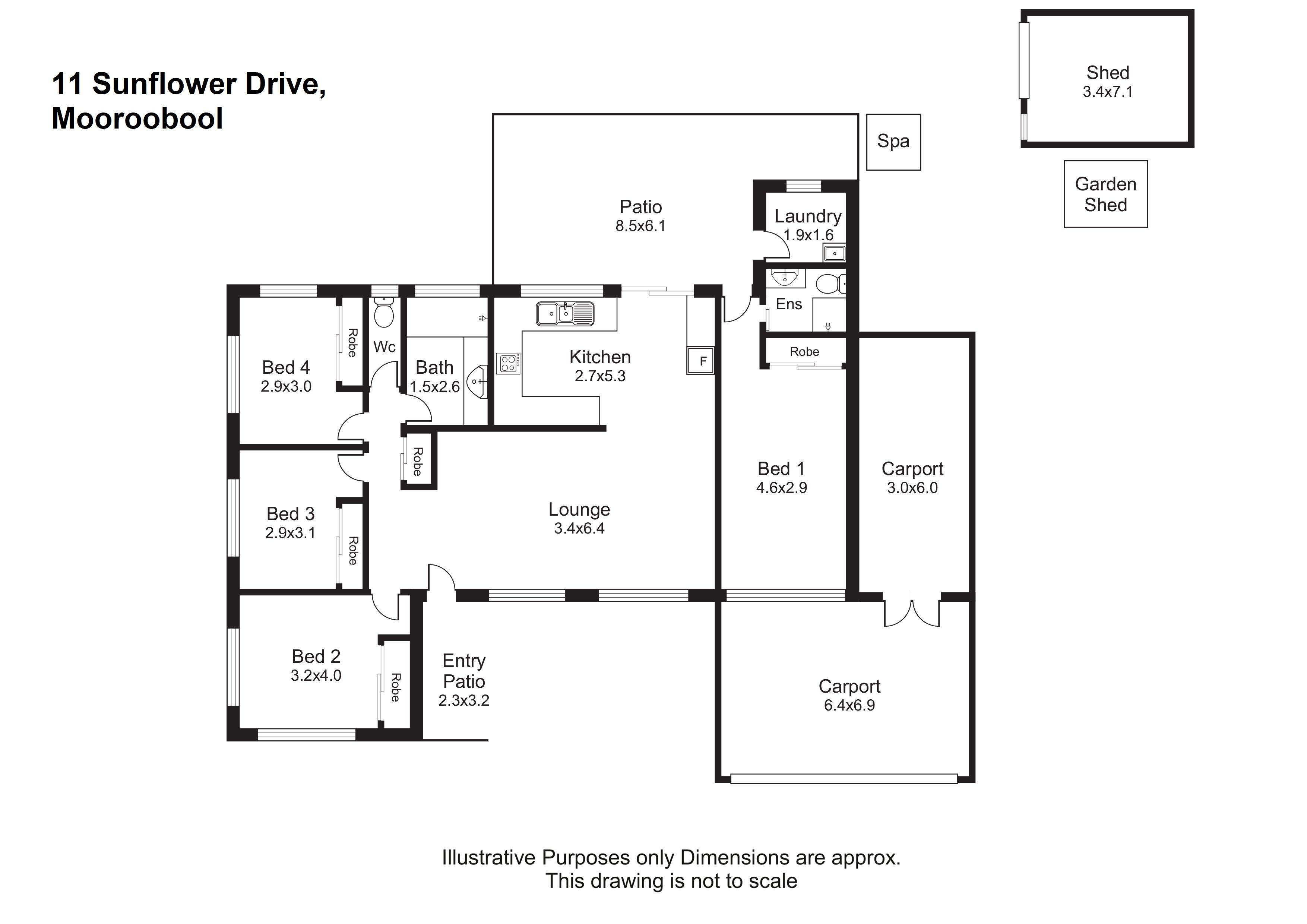 11 Sunflower Drive, Mooroobool QLD 4870