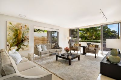 Luxuriously Appointed Garden Apartment offers Sundrenched Privacy, Elevated Position & Approx. 292sqm of Sumptuous One Level Living