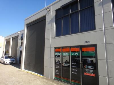 Warehouse unit on Darley Street