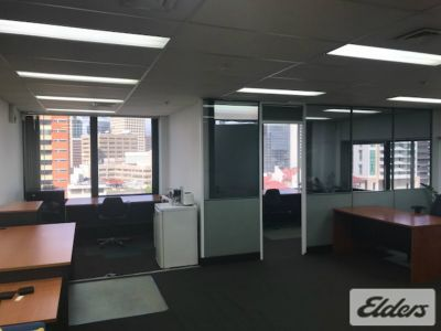 TOP FLOOR FULLY FURNISHED OFFICE!