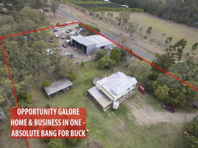 OPPORTUNITY GALORE -  HOME & BUSINESS IN ONE – ABSOLUTE BANG FOR BUCK….READ ON!