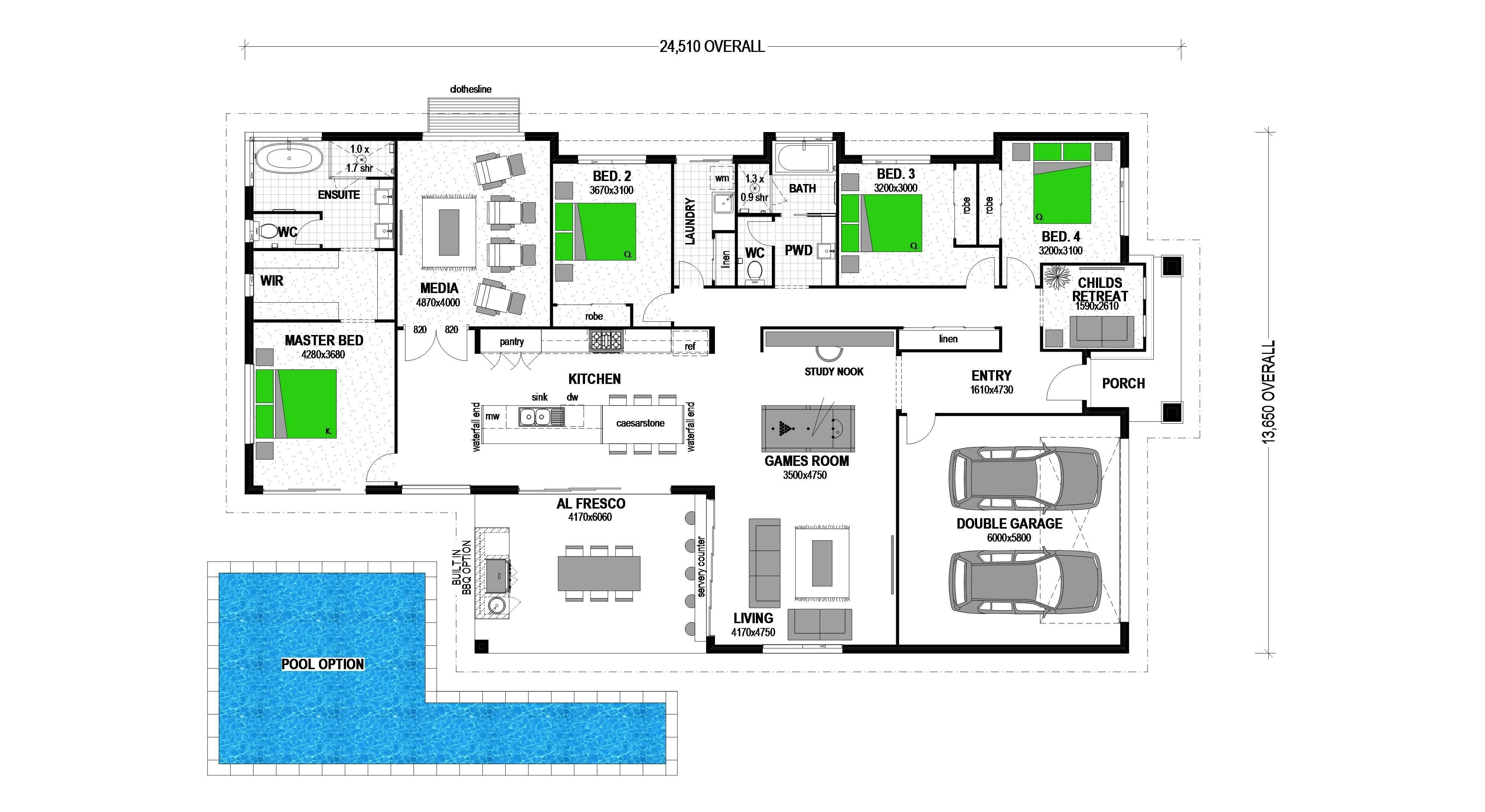 LOT 234 WILLOW ESTATE GISBORNE Floorplan