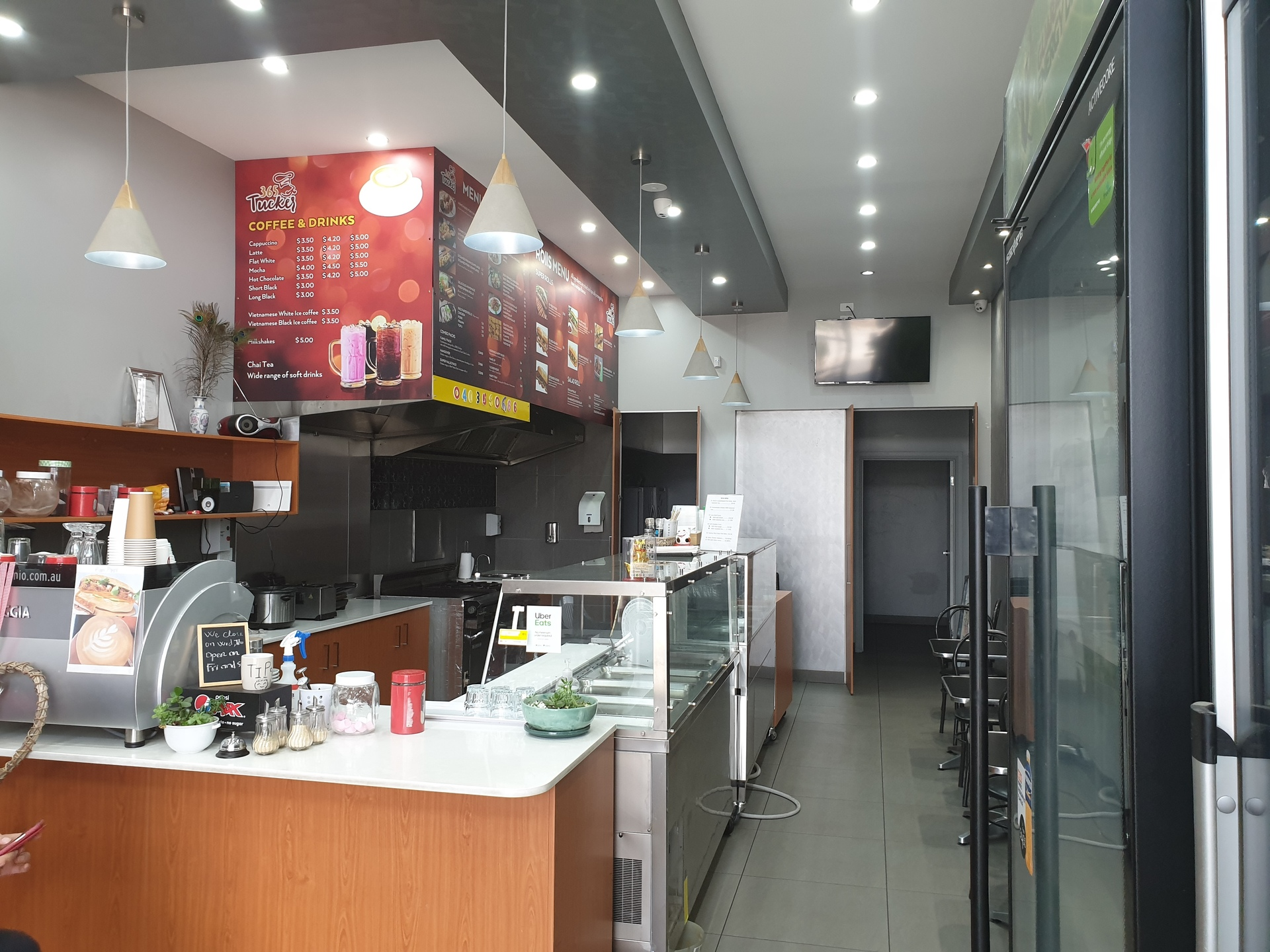 Sunshine - Industrial Cafe takeaway - Cheap only $35,000