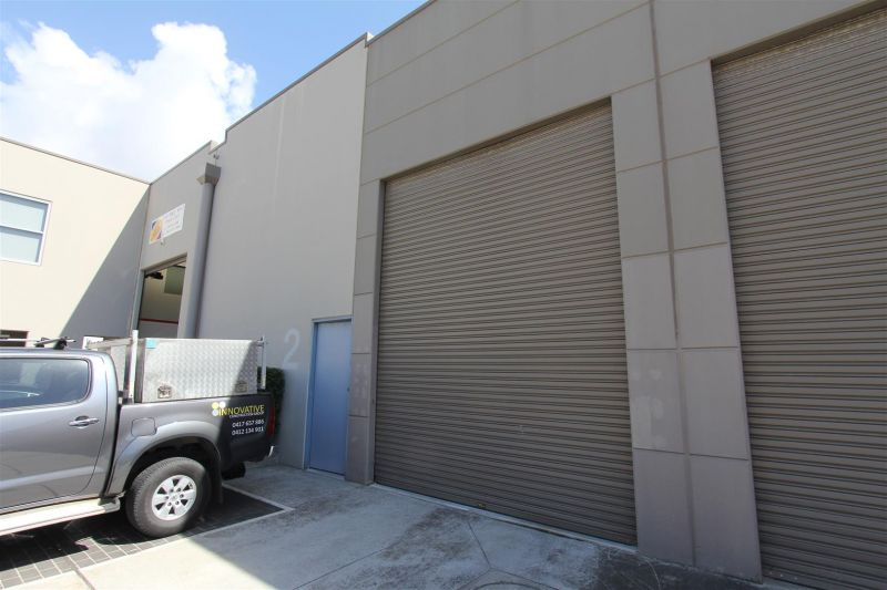 LEASED BY RYAN MCMAHON - 111m² OPEN PLAN FACTORY, CARINGBAH