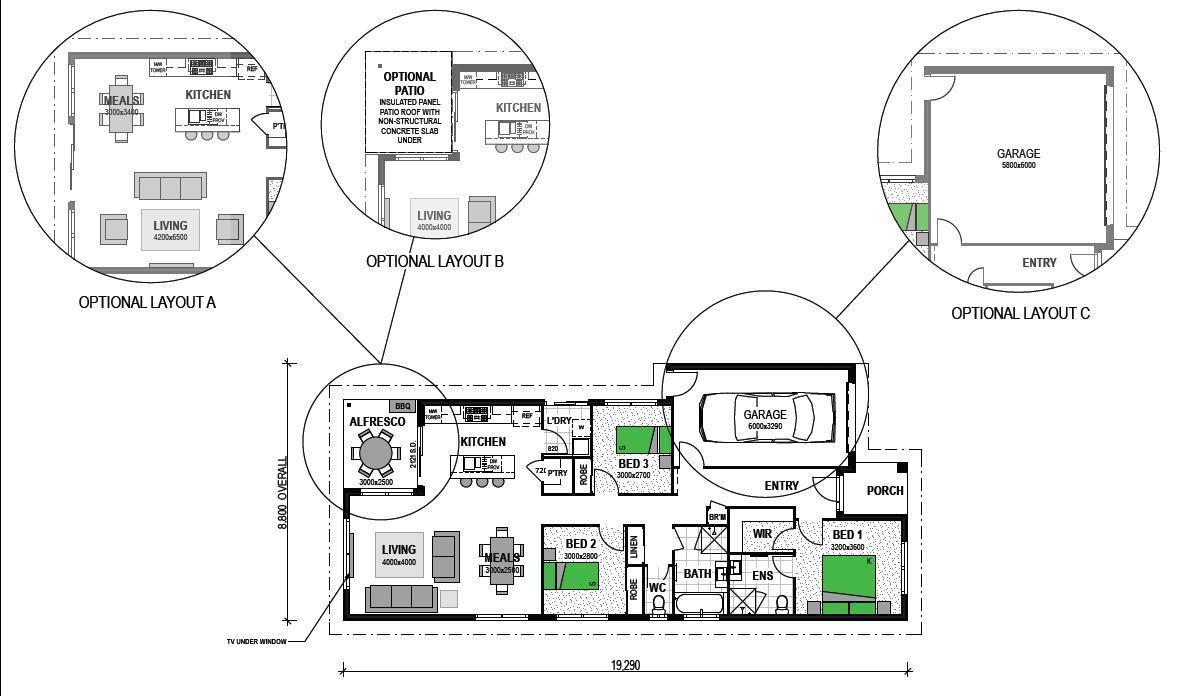 LOT 118 PEBBLE CREEK SOUTH MACLEAN Floorplan