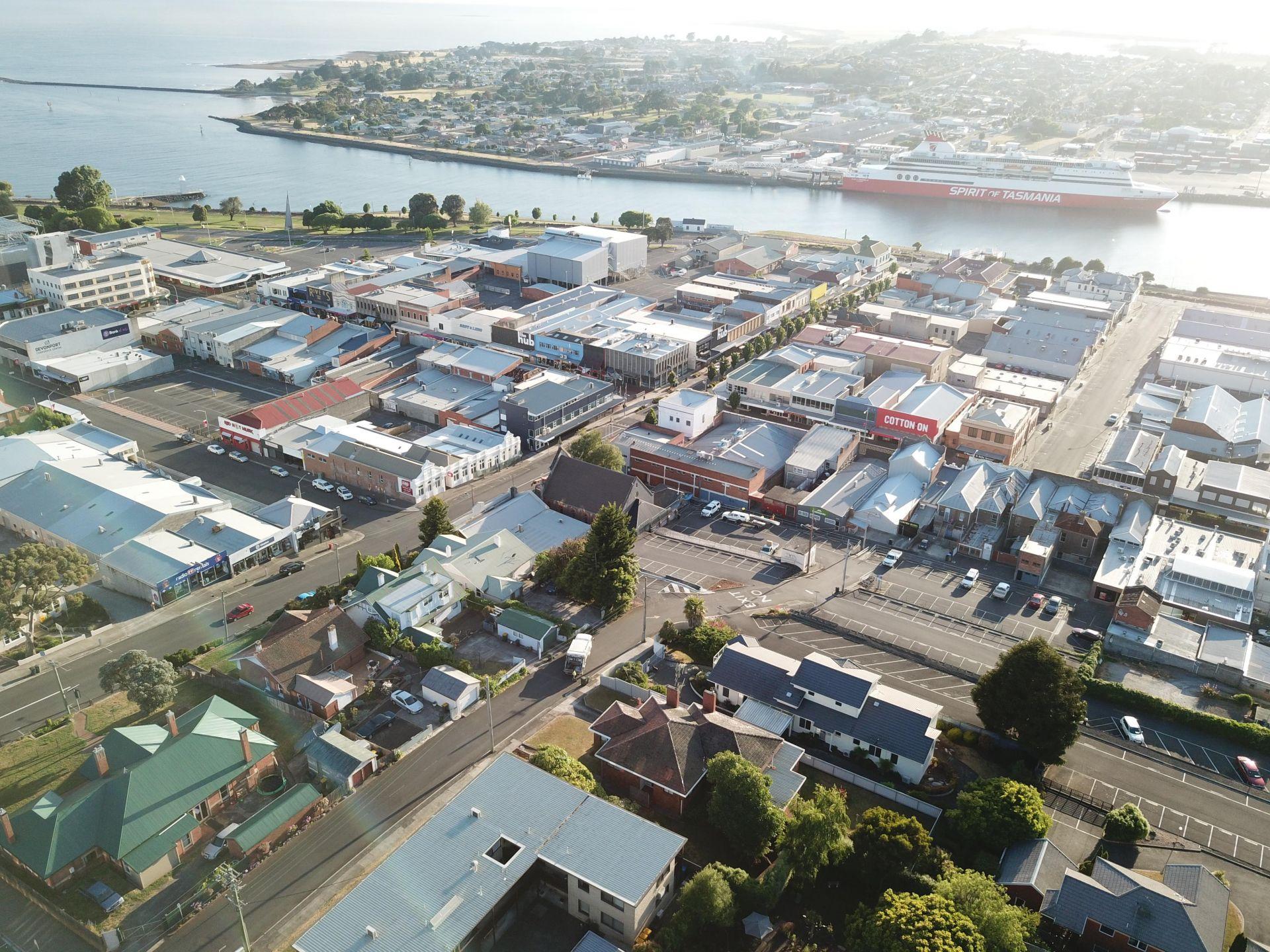 A Grade retail properties within Devonport's 'Living City' precinct. (Tasmania)