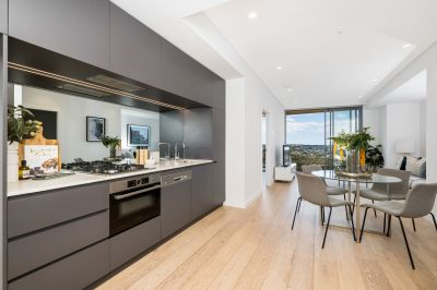Luxury near-new apartment with stunning views