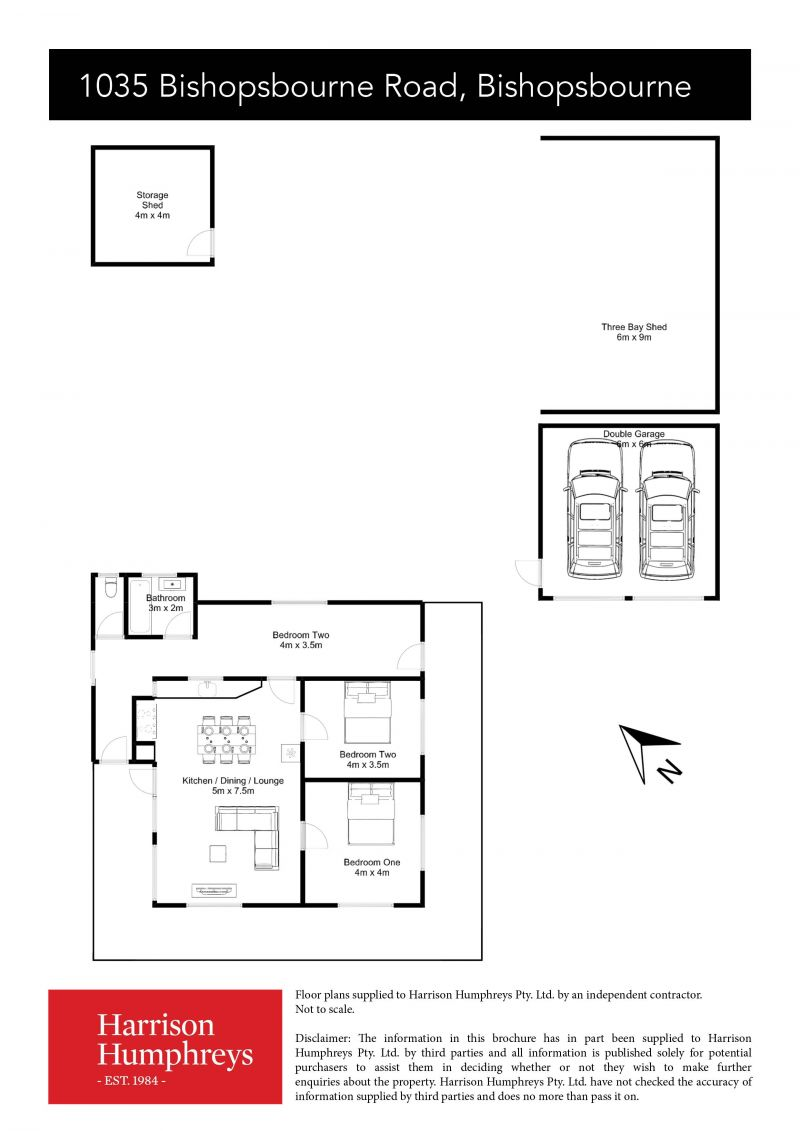 1035 Bishopsbourne Road Floorplan