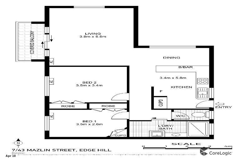 7/43 Mazlin Street, Edge Hill QLD 4870