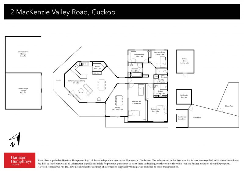 2 MacKenzie Valley Road Floorplan
