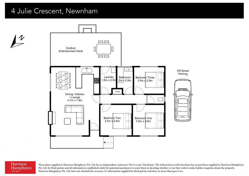 4 Julie  Crescent Floorplan