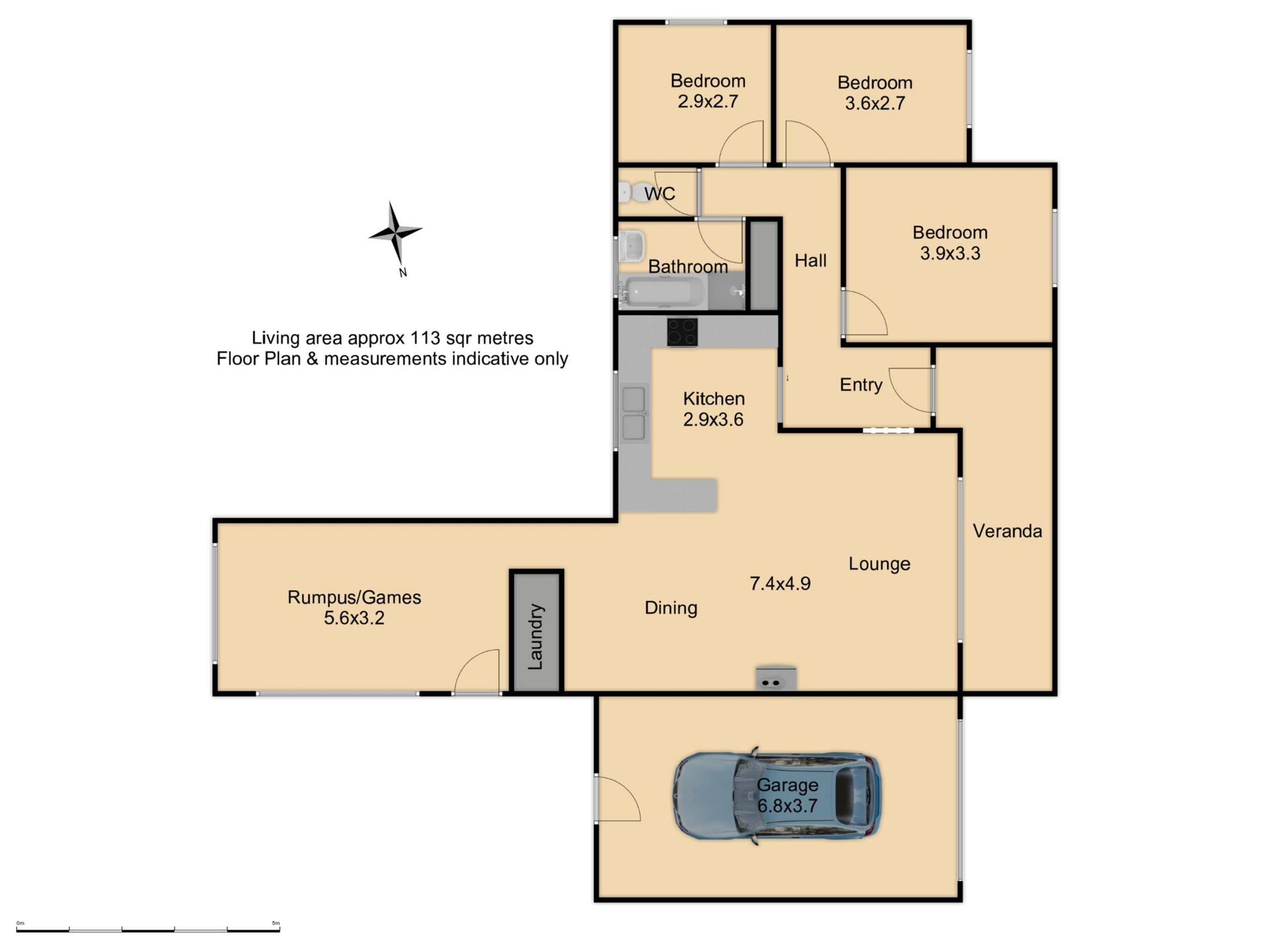 36 Palmer street - Floor Plan